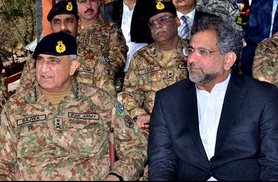 Civil-military relationship evolving after turbulent year: PM Abbasi