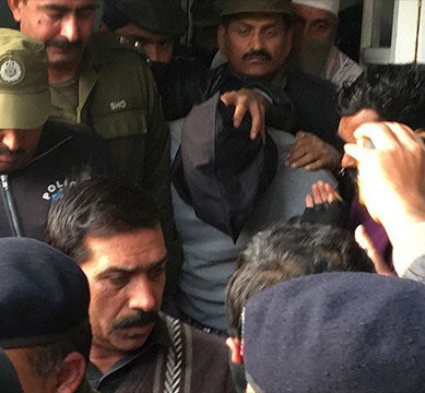 The murderer of Zainab Ansari, the 6-year-old girl whose rape infuriated Pakistan, was sentenced four times to death