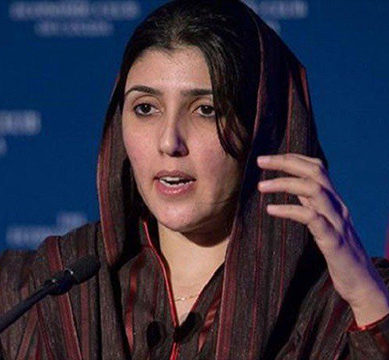 Ayesha Gulalai claims credit for PML-N's victory in Lodhran by-poll