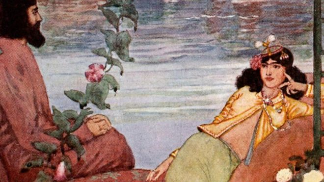 "The ""most luxurious book in the world"" sank with the Titanic: Rubaiyat"