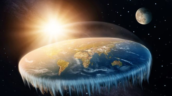 What would the world be like if the Earth were really flat, according to science?