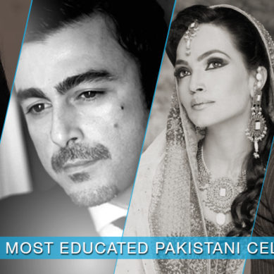 Pakistani Celebrities that are highly educated!