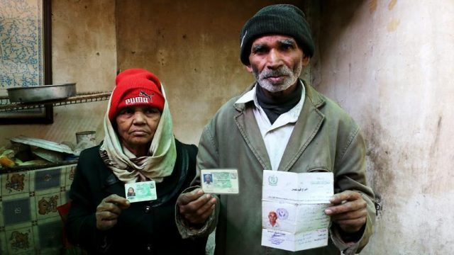 Elderly Pakistani couple escapes Syria's embattled Ghouta
