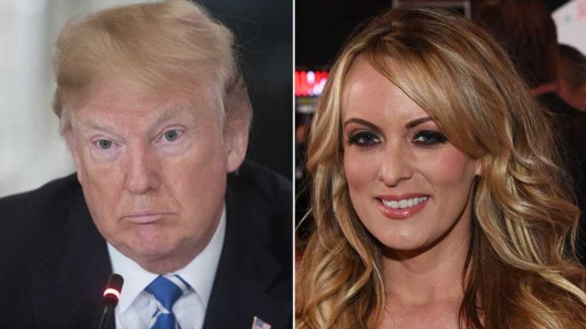 "The porn actress Stormy Daniels demands the president of the United States, Donald Trump, to break ""confidentiality agreement"" on alleged affair"