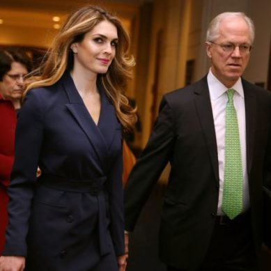 "Who is Hope Hicks, the discreet exmodel who resigned from her position as director of communication for Donald Trump after confessing that she said ""white lies"""