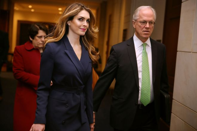 """Who is Hope Hicks, the discreet exmodel who resigned from her position as director of communication for Donald Trump after confessing that she said """"white lies"""""""
