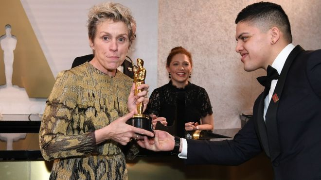 Robbery at the 2018 Oscars: Thief arrested for stealing statuette of actress Frances McDormand