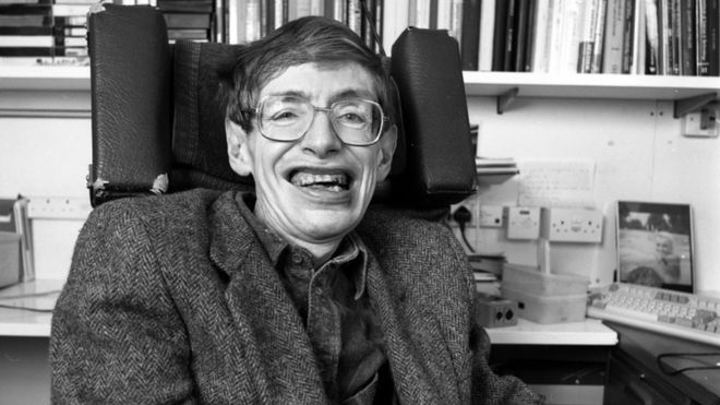 Stephen Hawking: life in images of a man who sought the theory to describe the Universe