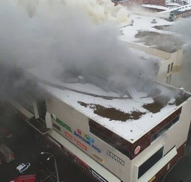 Fires in Russia: at least 37 dead and dozens missing, including children, in a fire at a shopping center in Kemerovo
