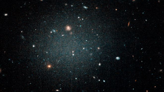 "The mysterious and newly discovered ""ghost galaxy"" that may not have dark matter"