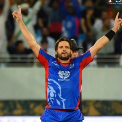 Shahid Afridi likely to miss World XI match against Windies due to knee injury