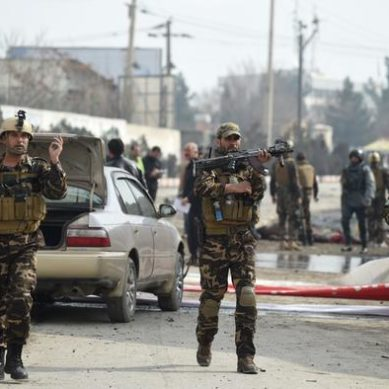 Attack in Kabul at the pace of a NATO contractor