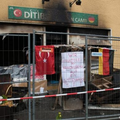 Turkey protests the attack on several mosques in Germany