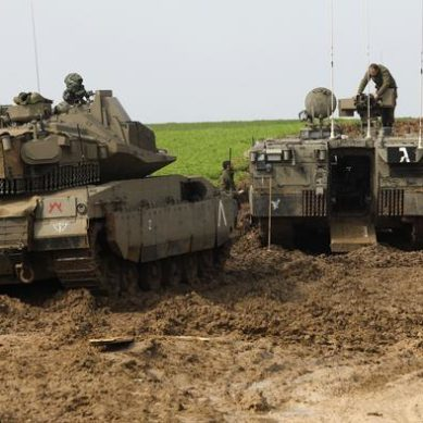 Israel attacks Hamas bases in Gaza in response to explosions