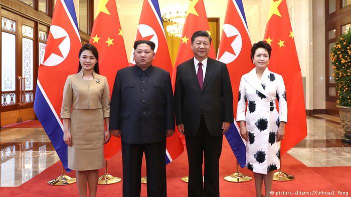 Kim Jong visit to Chinese president in Beijing
