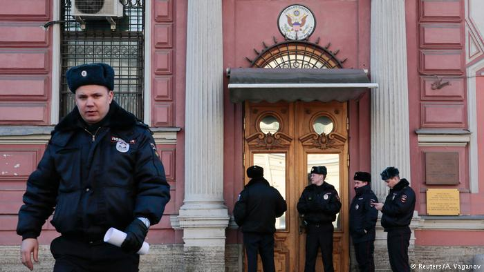 Russia closes the US consulate in St. Petersburg