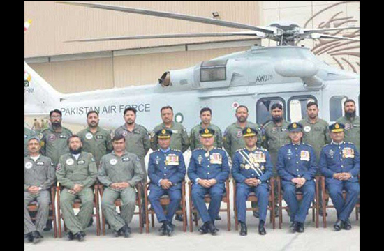 Pakistan Air Force aquires AW-139 helicopters