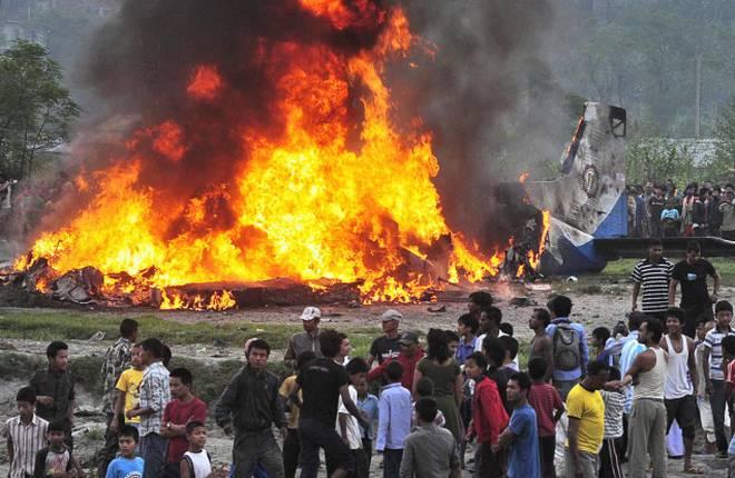US-Bangla Airline With 67 Passengers on Board Crashed Near Kathmandu Airport