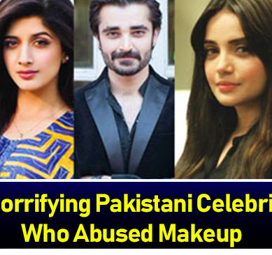 Too Much Makeup! 21 Horrifying Pakistani Celebrities Who Abused Makeup
