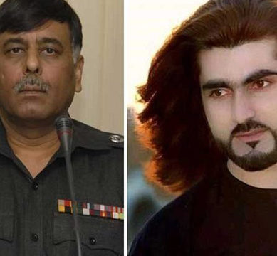 Rao Anwar appears in Supreme Court