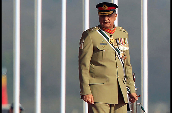 Army Chief Visits Operational Area on Eastern Border