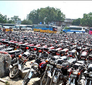Tracking devices to be installed in all newly manufactured and already-in-use motorcycles across Karachi