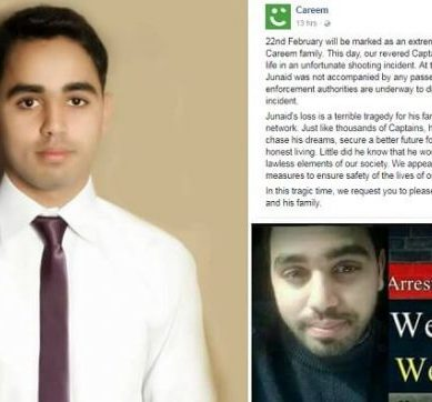 Careem Captain Murderers Traced, 3 Charged with Homicide