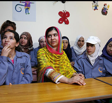 Classes Commence at Malala-Funded KKF Model School