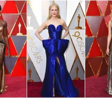 The best dressed celebrities – Oscar 2018