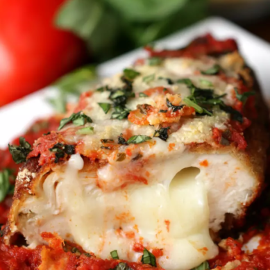 Stuffed Parmesan Chicken