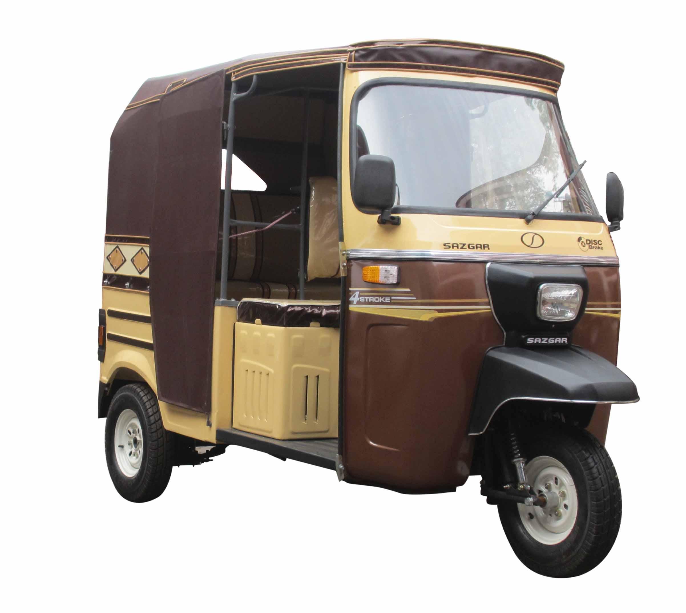 Pakistan's rickshaw brand 'Sazgar' to manufacture cars