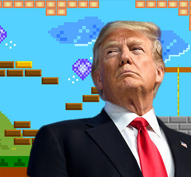 """Game-Industry is Creating Monsters"" says Trump"