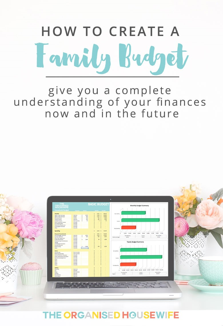 How to create a Family Budget: Build a budget that works!