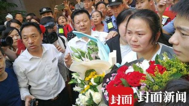 Chinese parents re-unite with missing daughter after 24 years of hunt