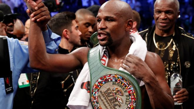 US boxer Flyod Mayweather's bodyguard afflicted by open fire