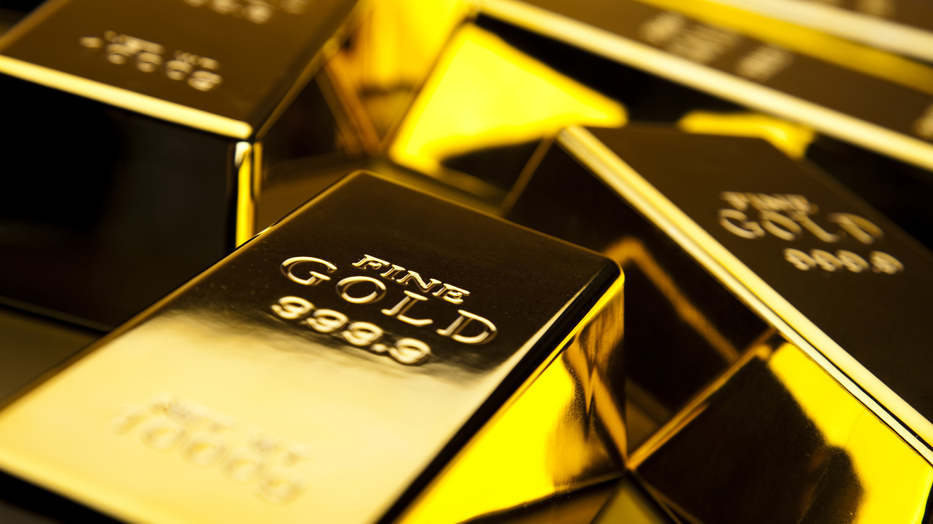 Gold prices inch down and take a dip
