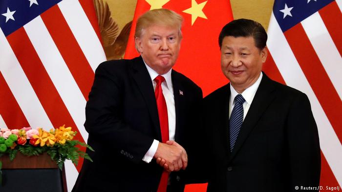 China reacts against tariffs imposed by the US