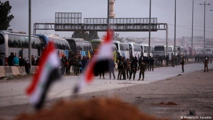 Syrian government and rebels reach agreement to evacuate Duma
