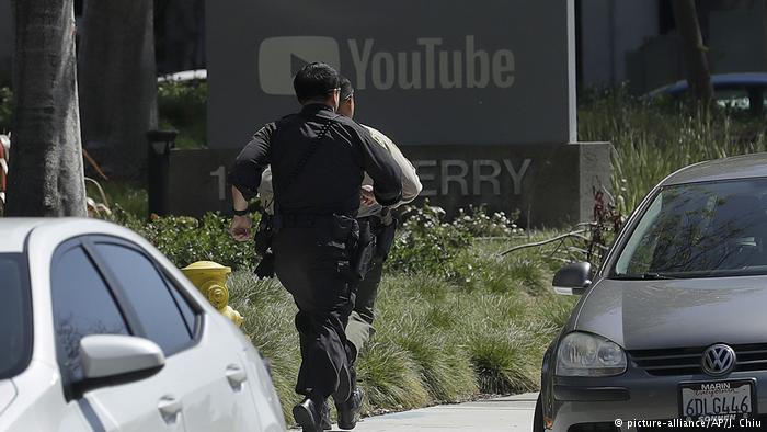 At least one dead and four wounded in shooting at YouTube headquarters