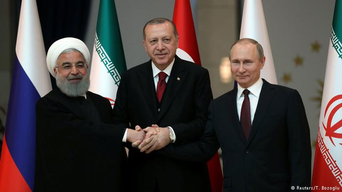 "Russia, Turkey and Iran will fight together the ""terrorists"" in Syria"