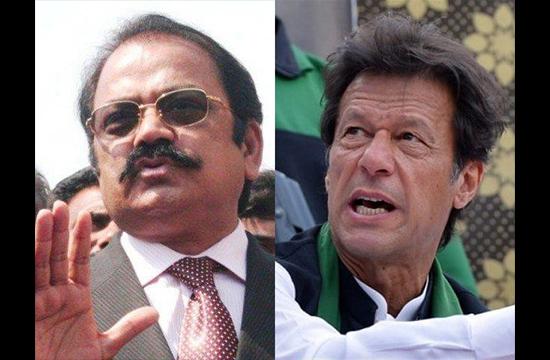 Imran Khan first talked about role of money in Senate polls: Rana Sanaullah