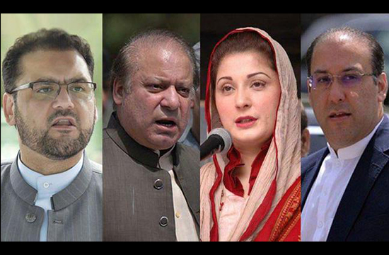 Sharif family calls for live broadcast of the trial proceedings