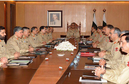 Corps commanders moot: Army repeats call for mainstreaming of Fata