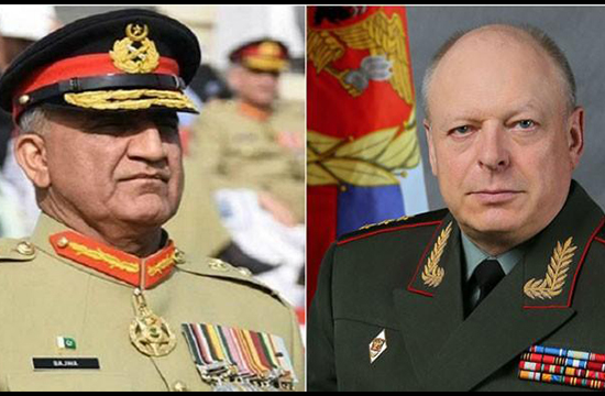 Russian forces' chief acknowledges Pak Army's contributions for regional peace