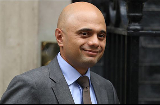Pakistani-origin Sajid Javid appointed UK's new Home Secretary