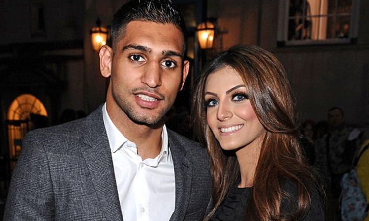 Amir Khan, Faryal Makhdoom welcome a baby girl!