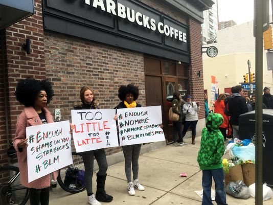 Is Starbucks racist? Business meeting landed 2 black men in handcuffs, sparks national outrage for worsening race relations