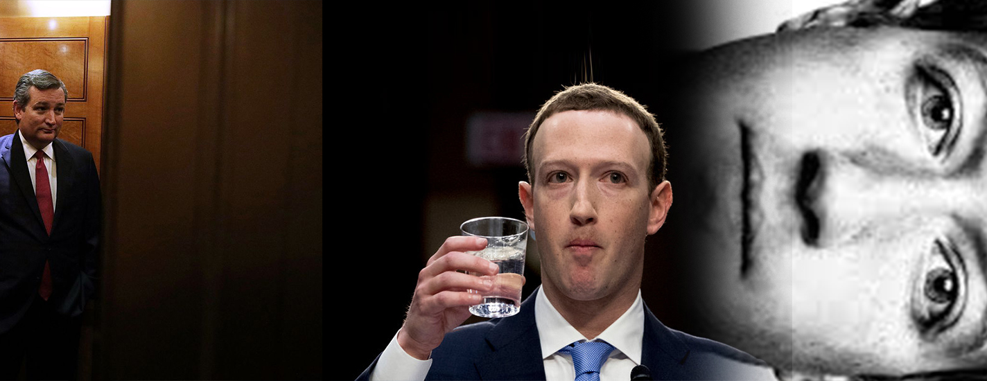 Cruz grills Zuckerberg at the congressional testimony for political bias