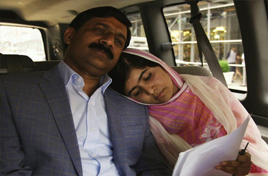 "Malala Haters: ""Criticism can't stop my daughter from striving for her goal of female empowerment"" says Ziauddin Yousufzai"