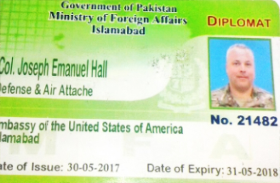 US diplomat to face trial for the road accident either in Pakistan or his native country